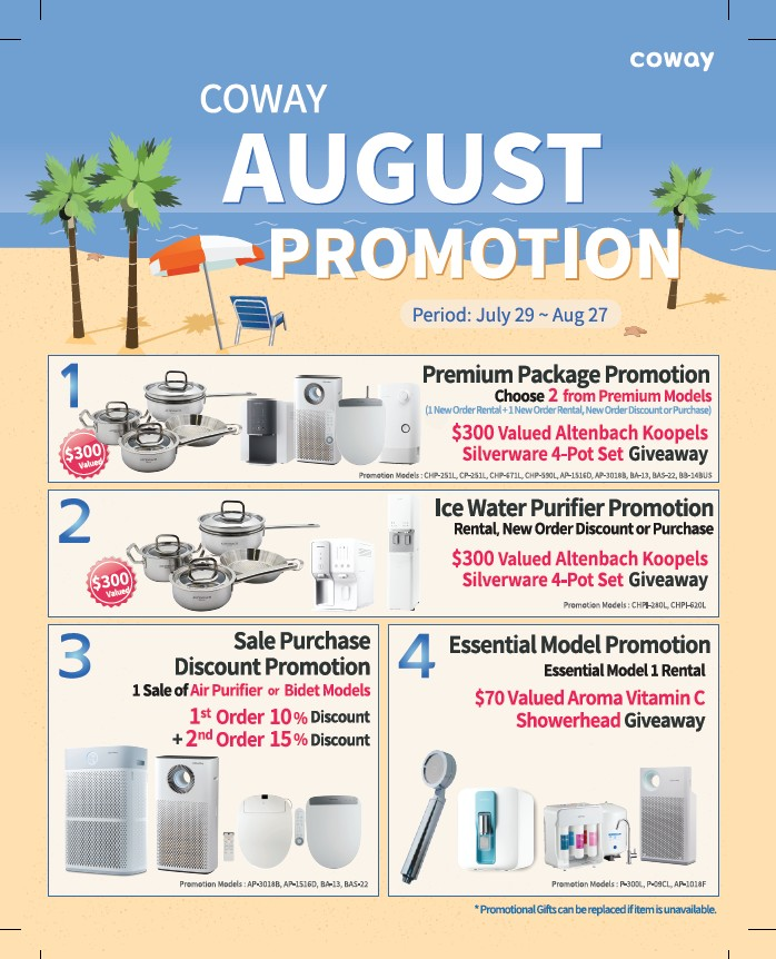 Coway promotion